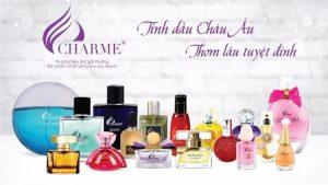 Nước hoa Charme nữ mùi nào thơm nhất?