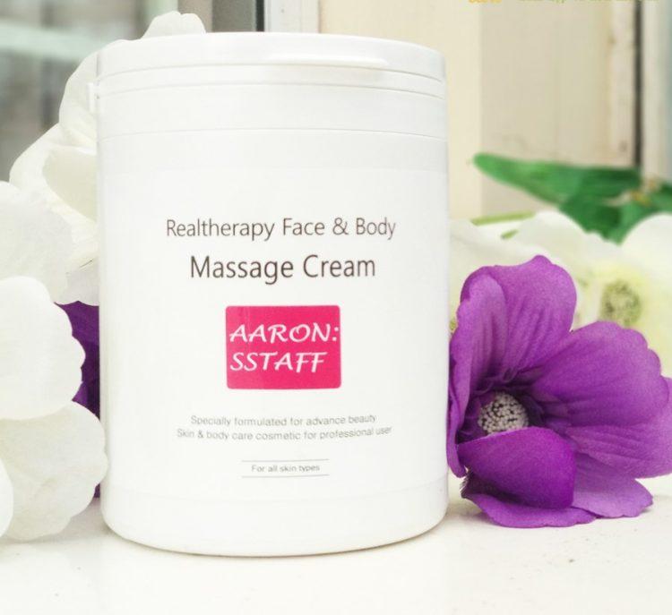 Đây là dòng kem massage da mặt nội địa Hàn được dùng tại spa cực nổi tiếng