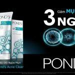Kem trị mụn Pond's acne clear