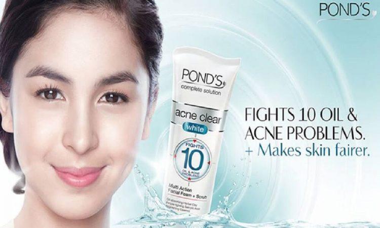 Kem trị mụn Pond's acne clear giúp ngừa mụn hiệu quả cho da trắng sáng