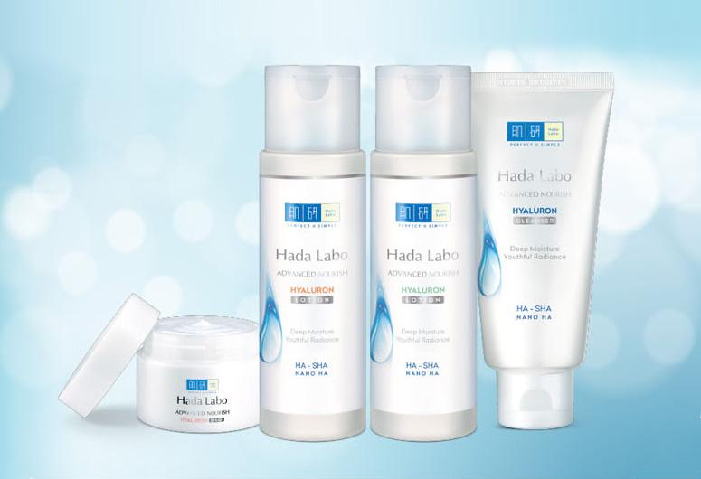 Các sản phẩm của Hada Labo