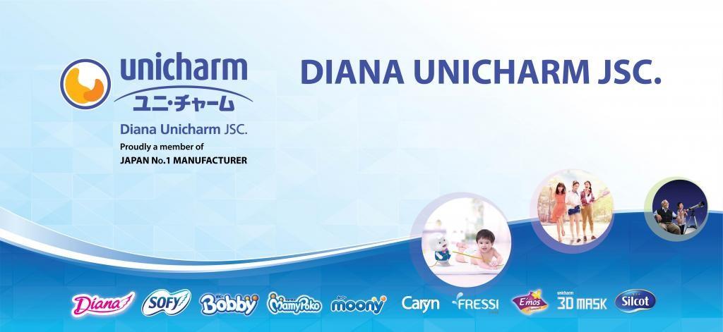 Các thương hiệu của tập đoàn Unicharm