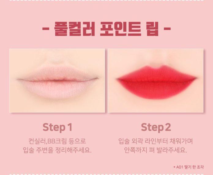 Cách đánh son cả môi