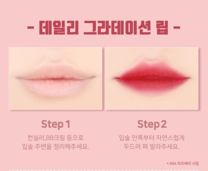 Cách đánh son lòng môi