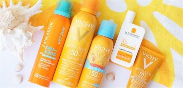 Kem chống nắng của pháp dành cho da khô nổi bật ở 2 thương hiệu kem chống nắng Vichy và La Roche Posay