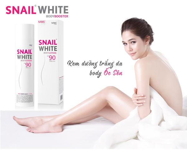 Kem dưỡng trắng da body Snail White Thái Lan