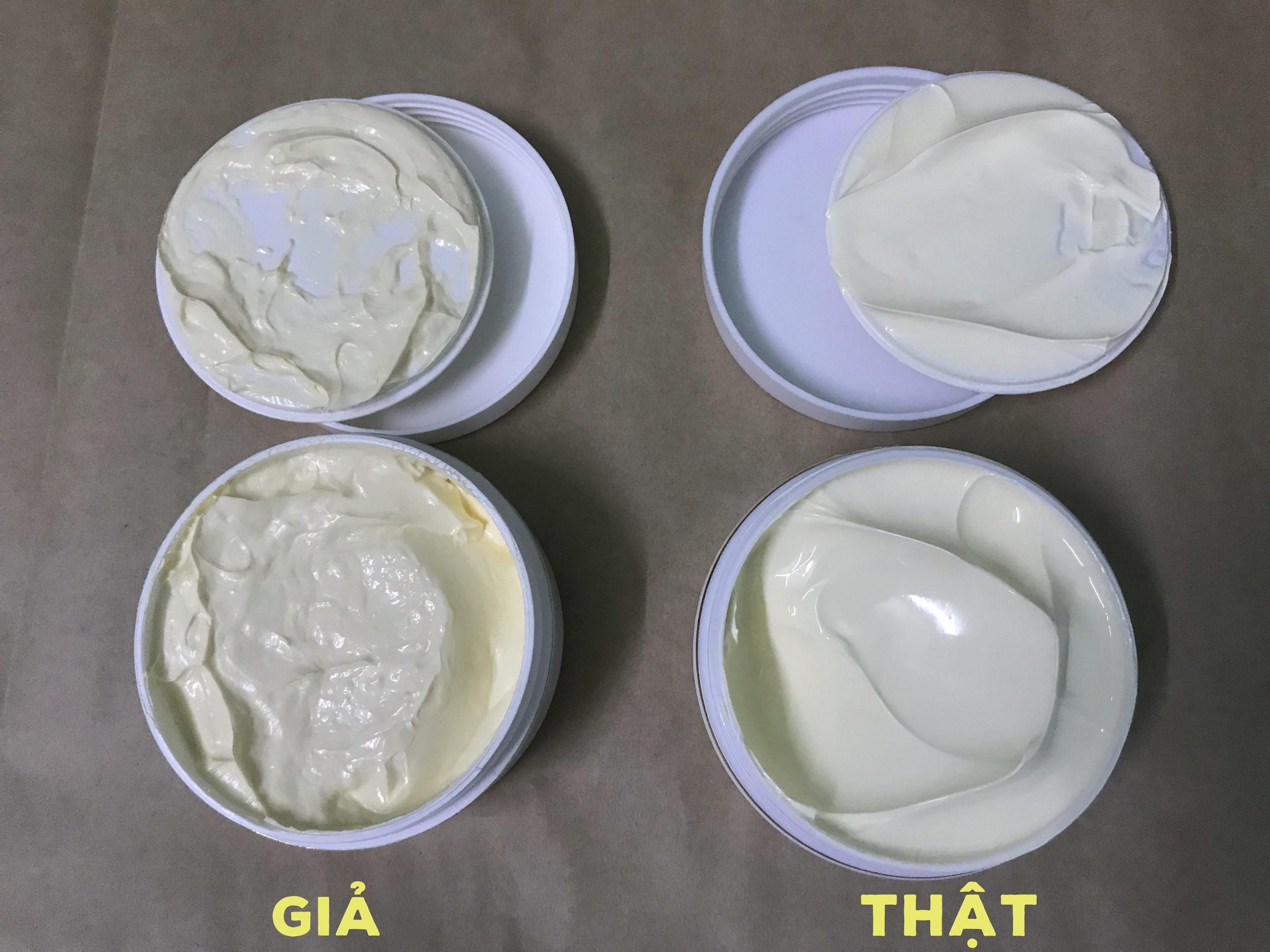 Phân biệt thông qua chất kem