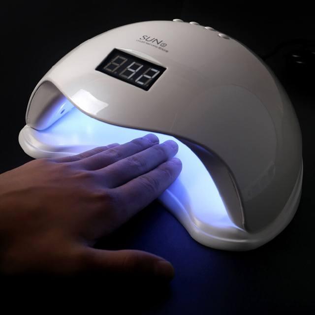 Máy hơ gel đèn led