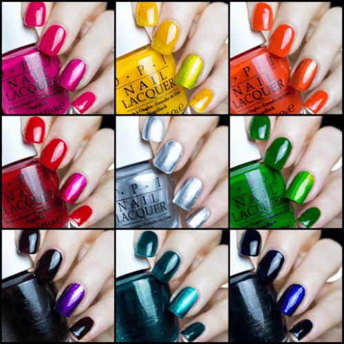 BST OPI Color Paints với 9 màu sơn trẻ trung, cá tính