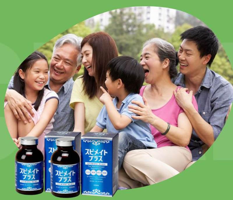 Tảo xoắn Nhật Spirulina là chìa khóa vàng cho sức khỏe cả gia đình