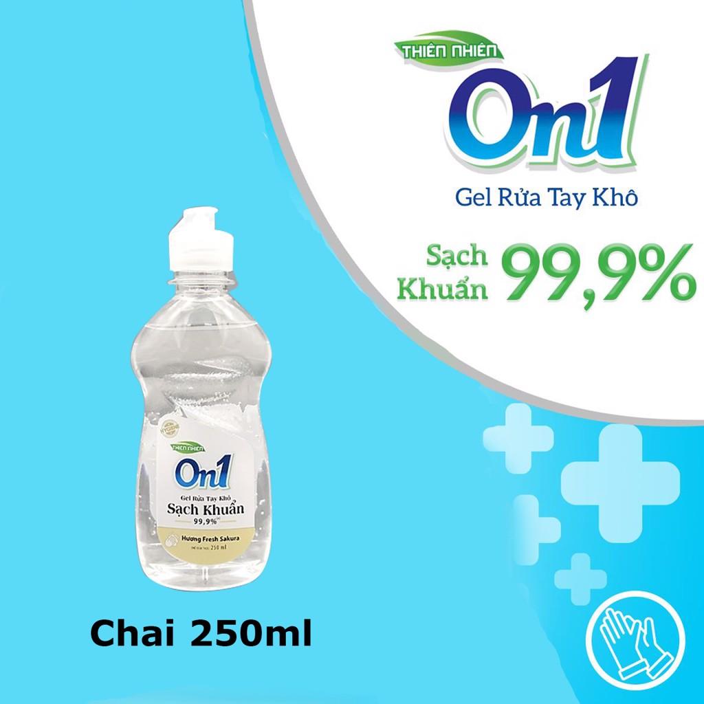 Gel rửa tay khô On1 với khả năng sạch khuẩn đến 99,9%