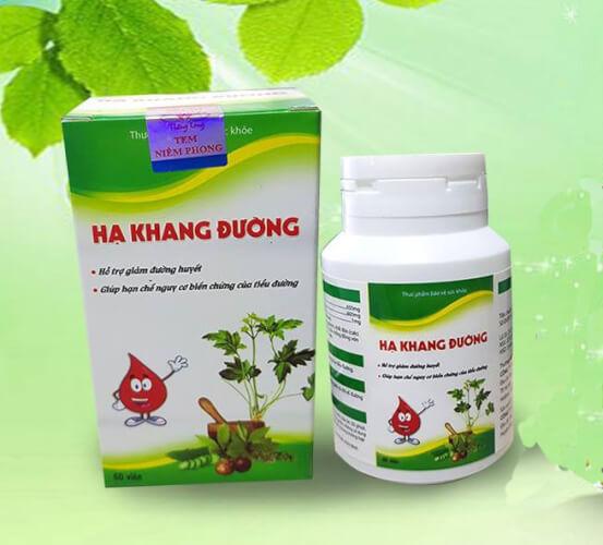 Hạ Khang Đường là thực phẩm chức năng hỗ trợ giảm đường huyết