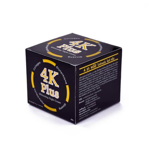 Kem dưỡng da 4K plus được đóng gói hũ 20g
