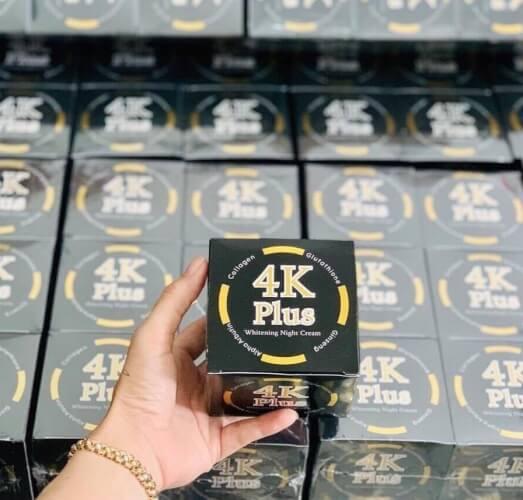 Không khó để có thể mua được kem dưỡng da 4K plus