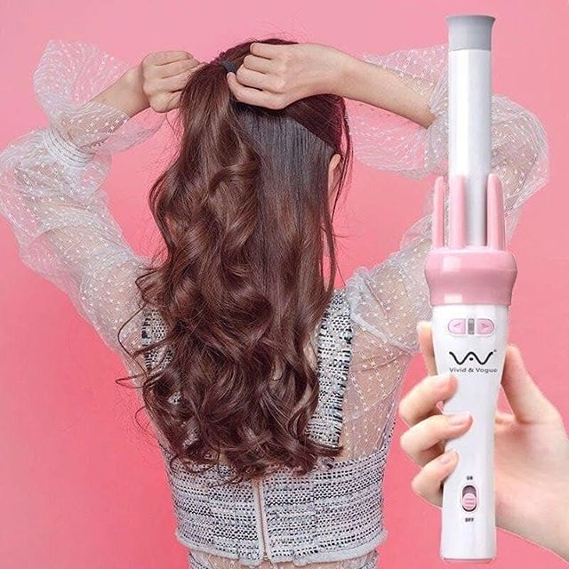 Máy uốn tóc 360 độ Vivi xinh xắn