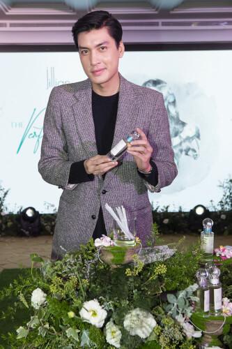 Người mẫu Quang Đại lựa chọn cho mình mùi hương phù hợp
