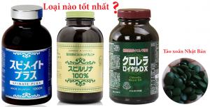 Review tảo xoắn Nhật loại nào tốt