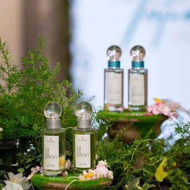 Nước hoa Jillian được làm nên từ những hương liệu tốt nhất