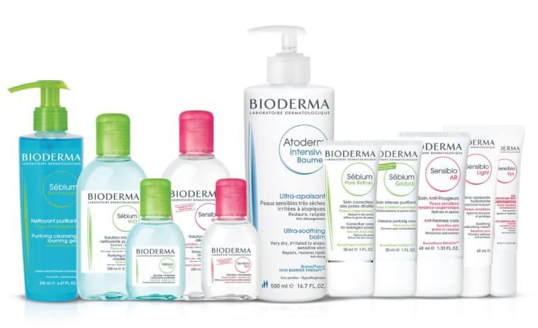 Các sản phẩm của Bioderma