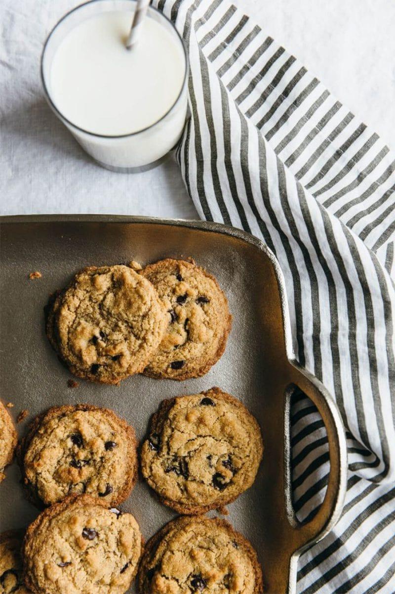 Bánh cookie yến mạch giòn thơm