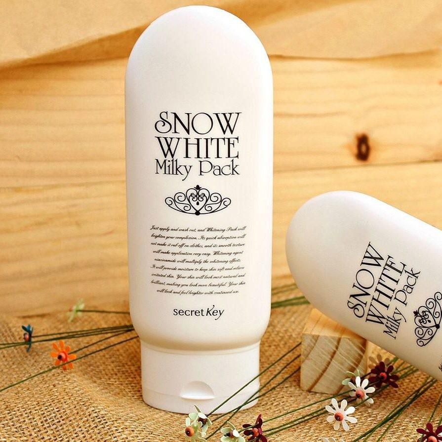Kem dưỡng trắng da body Snow White Milky Pack
