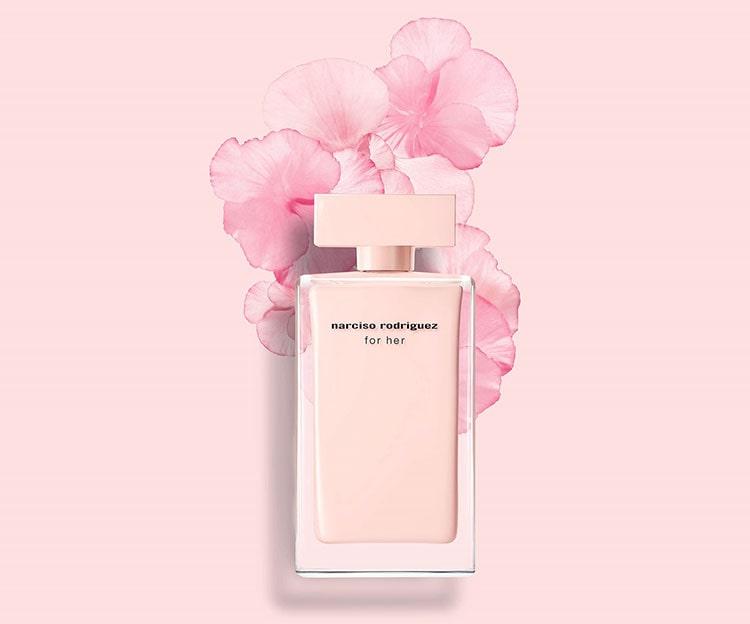 Nước hoa Narciso hồng nhạt thật