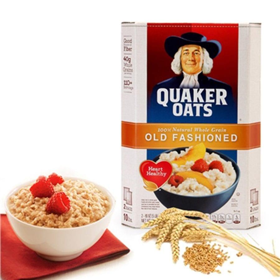 Yến mạch Mỹ Quaker Oats