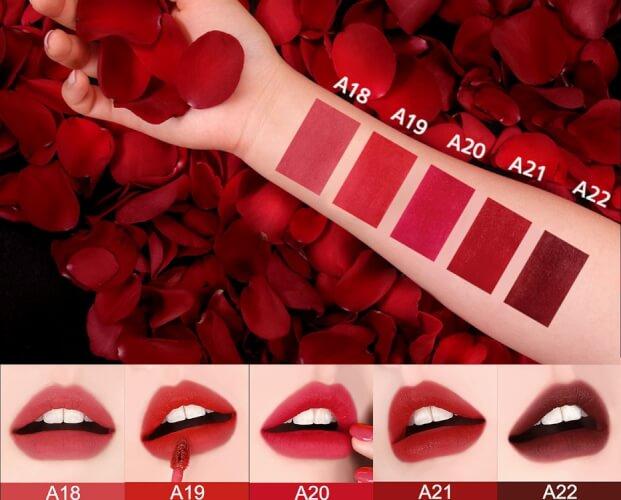 Bảng màu black rouge ver 4 với 5 màu độc đáo, cuốn hút