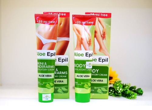 Kem tẩy lông vùng kín Aloe Epil của Ucraina