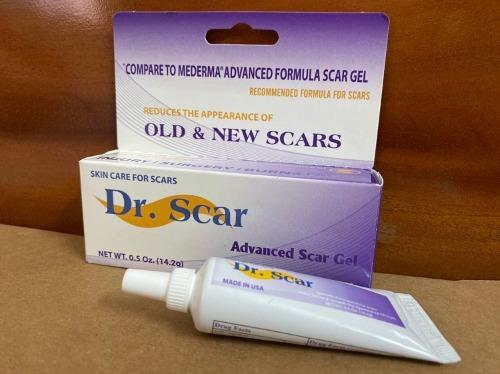 Thành phần kem trị thâm sẹo dr scar an toàn cho da