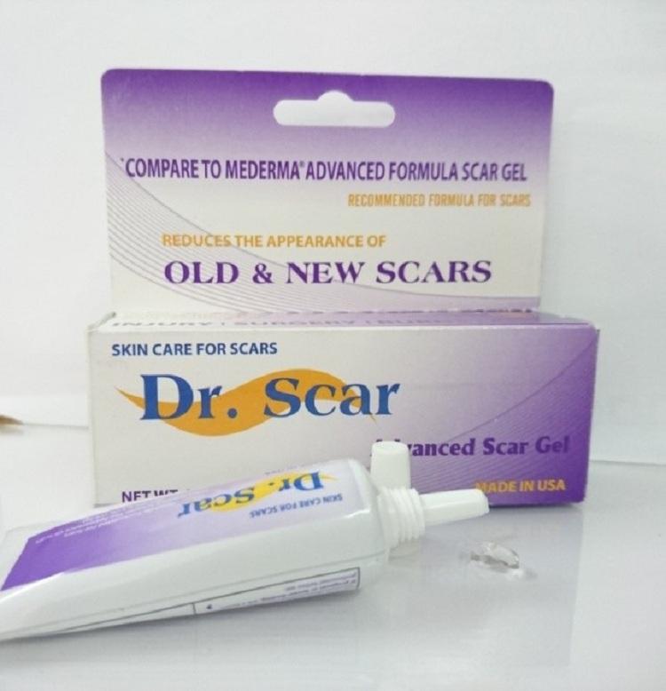 Kem trị sẹo dr scar rất dễ sử dụng