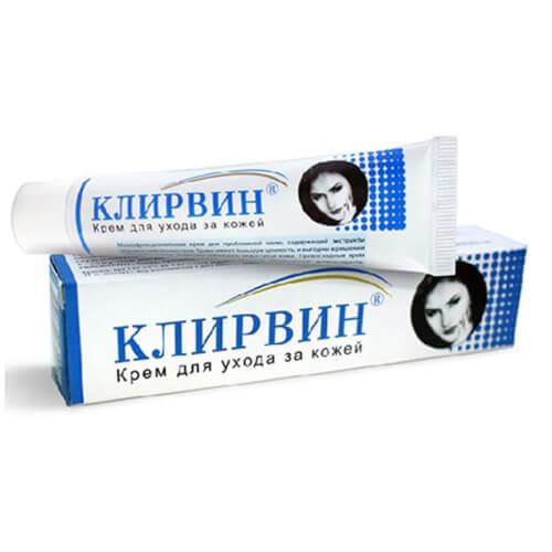 Kem trị sẹo Klirvin của Nga