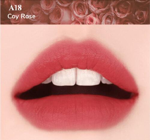 A18 Coy Rose màu hồng nâu