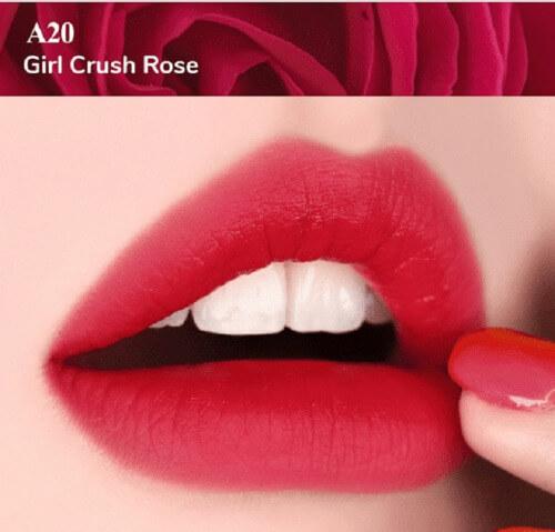 A20 Girl Crush Rose màu đỏ hồng ánh tím
