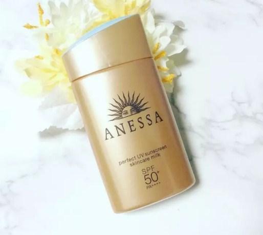 Chống nắng Anessa Perfect UV Sunscreen Skincare Milk Spf 50+ Pa++++ bán chạy nhất của Anessa