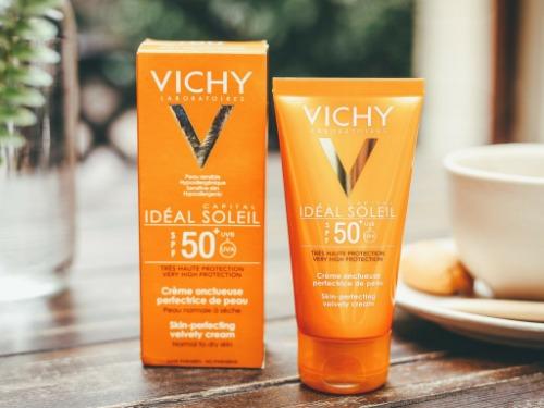 Sản phẩm chống nắng của Vichy được ưa chuộng