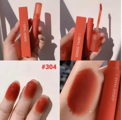 Màu đỏ cam dễ dùng, tôn da, tôn răng lại còn đẹp đến nao lòng thế này, sao mà không đổ chứ?
