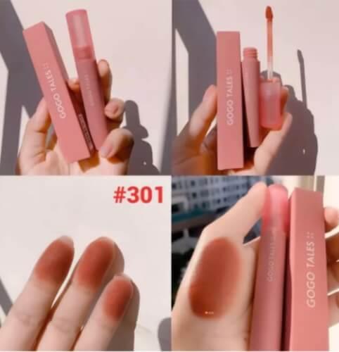 Màu son #302 mang sắc hồng pha đỏ, ngọt ngào cho những cô nàng nữ tính.