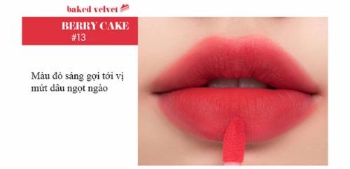Ngọt ngào như mứt dâu chính là những gì Berry Cake mang lại.