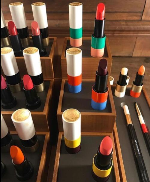Bộ sưu tập son Hermès - ước mơ của nhiều cô gái.
