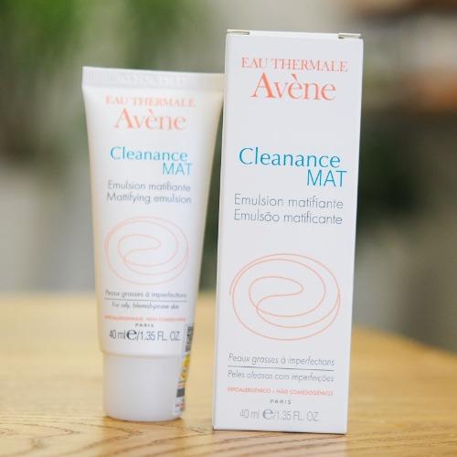 Kem dưỡng Avene Cleanance Mat Emulsion dưỡng ẩm , kiểm soát nhờn cho da dầu mụn