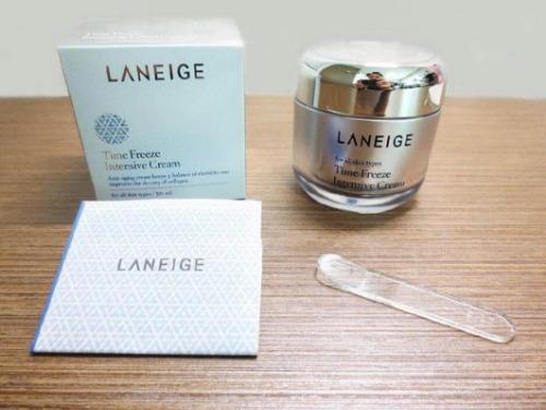 Laneige Time Freeze Intensive Cream giúp chống lão hóa chuyên sâu.