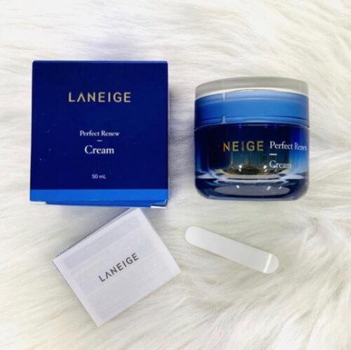 Laneige Perfect Renew Cream là sản phẩm thích hợp cho chị em chưa đến độ tuổi lão hóa nhưng muốn phòng bị trước cho làn da.