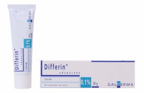 Nguồn gốc ngoại nhập cùng thành phần đặc trị mụn, tuýp kem Differin là một sản phẩm tốt cho những làn da đang gặp vấn đề.