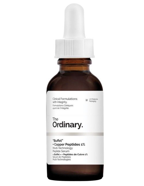 Diện mạo của chai serum The Ordinary Buffet Copper Peptides 1%.