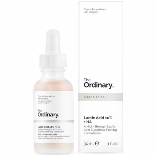 Tinh chất tẩy tế bào chết hoá học The Ordinary Lactic Acid 10% + HA 2%.