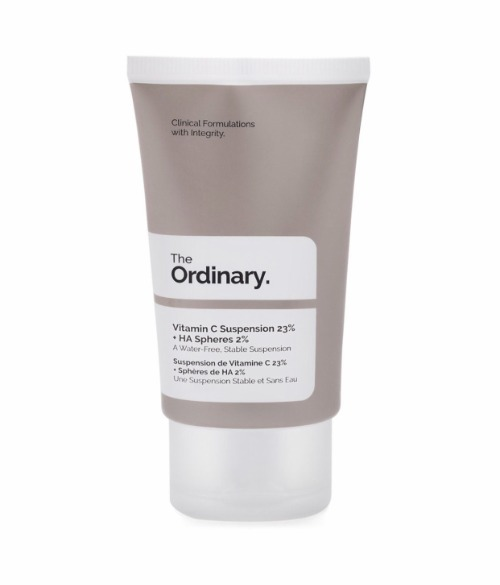 "Serum ""best-seller"" The Ordinary Vitamin C Suspension 23% + HA Spheres 2%."