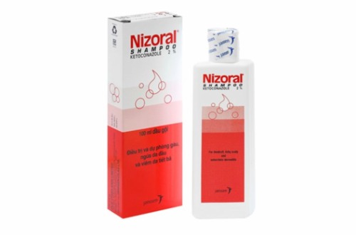 Chai dầu gội dược tá Nizoral đến từ Thái Lan.