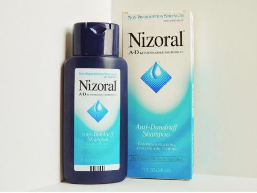 Bao bì của Nizoral phiên bản Mỹ.