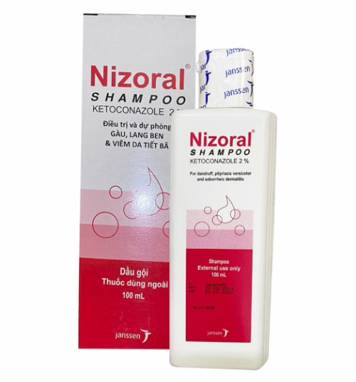 Bao bì phiên bản Thái Lan của Nizoral.